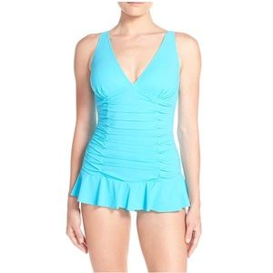 Profile by Gottex Tummy Control Swimsuit NWT!
